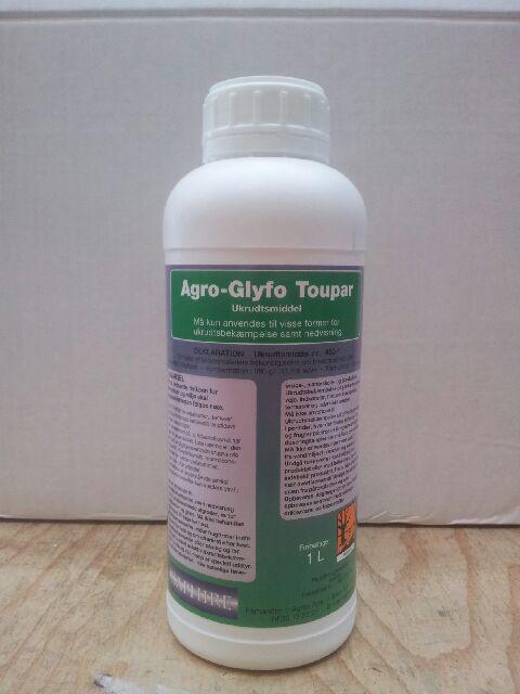 1 liter Glyphosat 360 ukrudtsmiddel - koncentreret - virker som RoundUp
