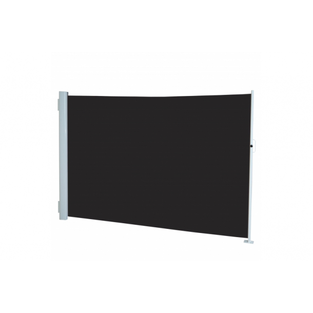 Læsejl 300x160cm - antracit/sort læskærm og læhegn