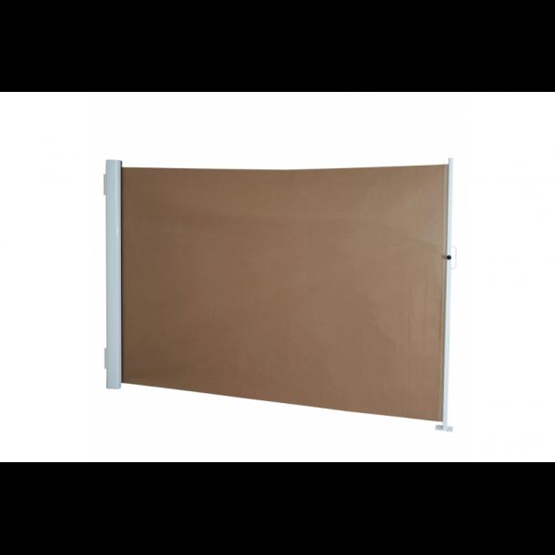 Læsejl 300x160cm - brunt læskærm og læhegn