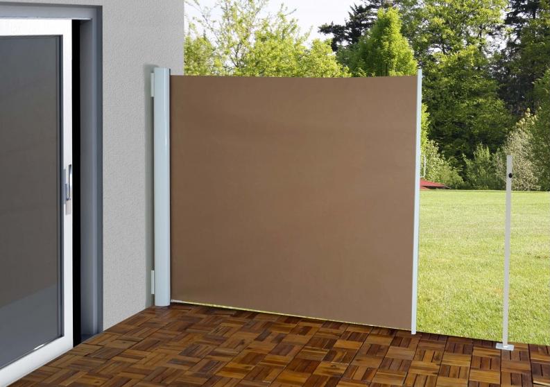 Læskærm 300x180cm   brunt læsejl og sidesejl   læhegn, læskærme og ...