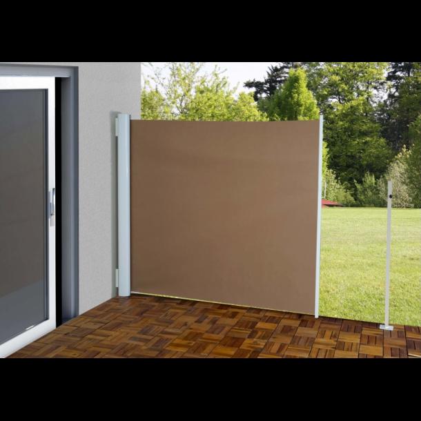 Læskærm 300x180cm - brunt læsejl og sidesejl - Læhegn, læskærme og ...