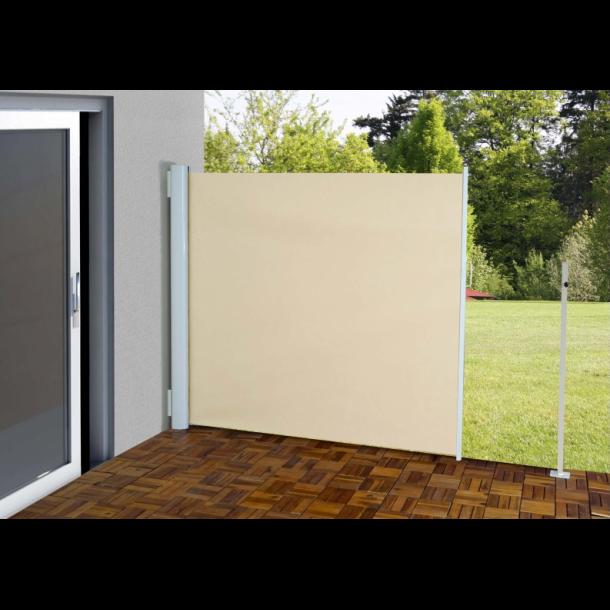 l sejl 300x160cm creme beige hvid l sk rm og l hegn. Black Bedroom Furniture Sets. Home Design Ideas