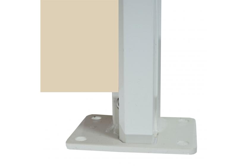 Læskærm 300x180cm - creme/beige hvid læsejl og sidesejl - Læhegn ...