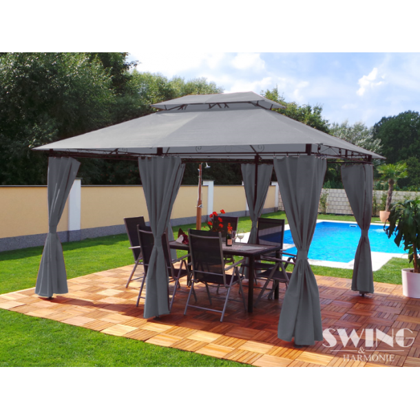 Pavillon 3x4m - antracit