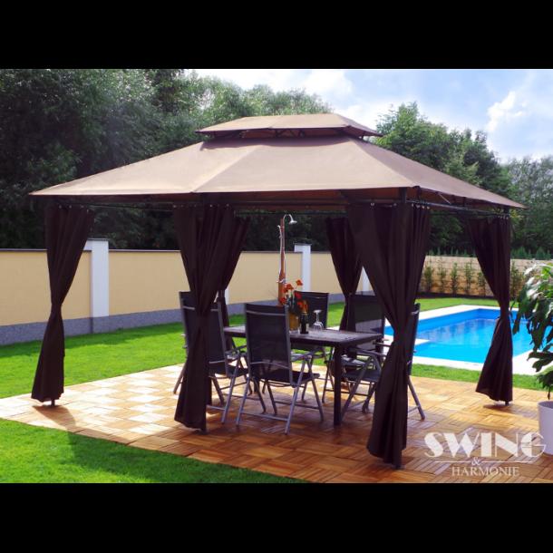 Pavillon 3x4m - brun