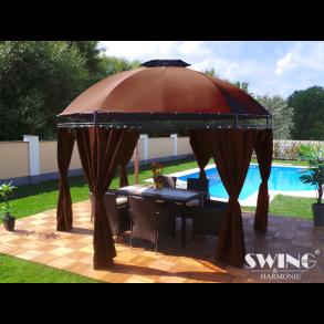 pavillon flotte pavilloner og lysthuse med lang holdbarhed. Black Bedroom Furniture Sets. Home Design Ideas