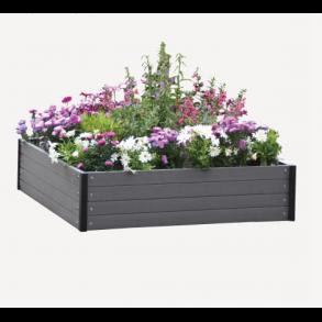 Højbede - blomsterkasser og plantekasser