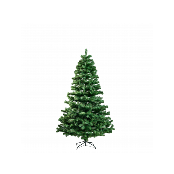 Juletræ på 150 cm - kunstigt plastik juletræ uden lys