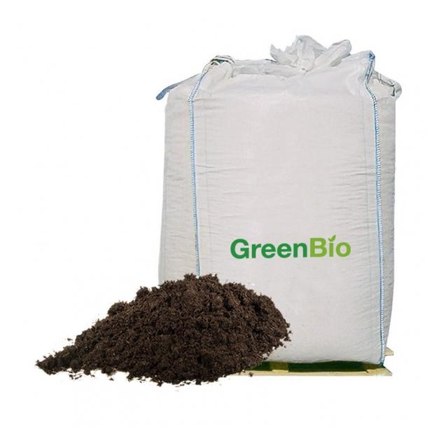 GreenBio Hestegødning - 1000 liter i bigbag