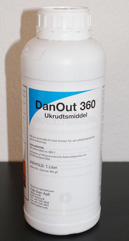 Bedre og billigere Roundup. Glyfosat - Ukrudtsmiddel