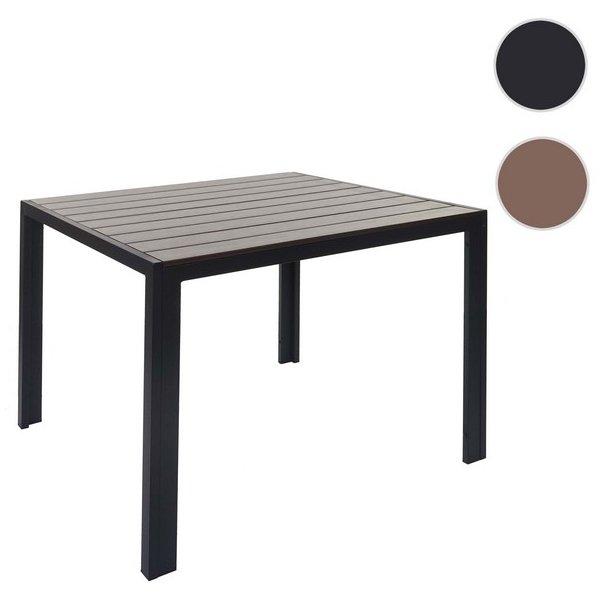 Brunt WPC havebord - brune havemøbler