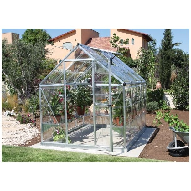 Seneste Nature Harmony drivhus 4,36 m2 i aluminium og polycarbonat fra NC44