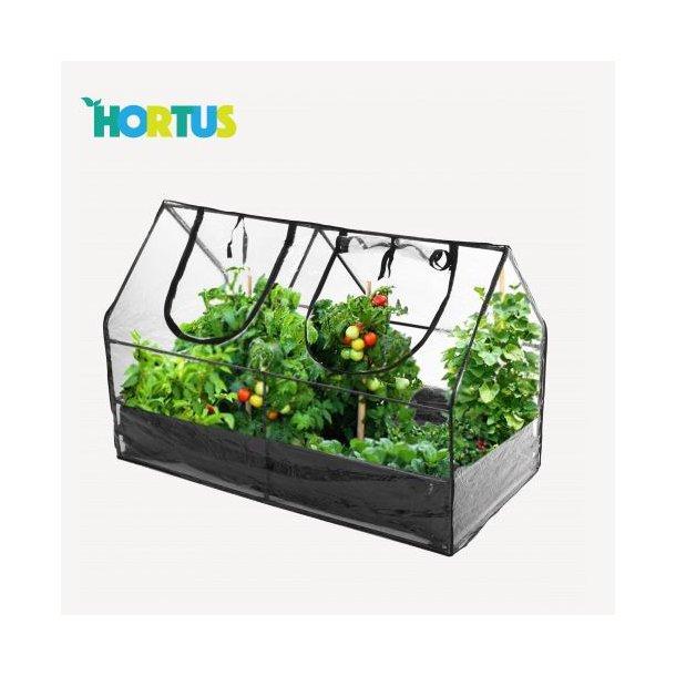 Hortus minidrivhus med bund - 65x83x128cm væksthus/drivhus