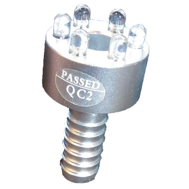 LED lys til vandfontæne - 6 dioder, hvidt lys