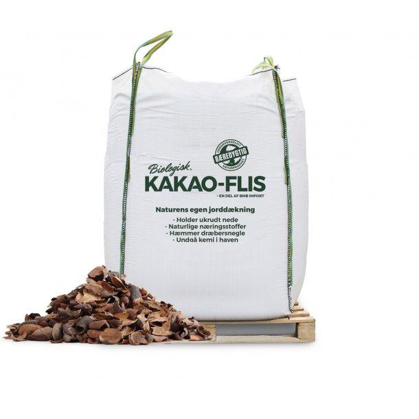 Kakao-flis 2m3 bigbag - bunddække - økologisk