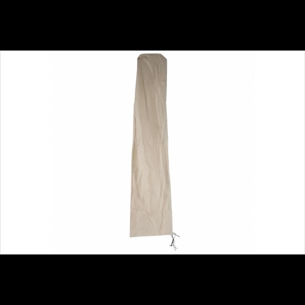 Overtræk til parasol 5 meter - vandtæt creme cover til haveparasol