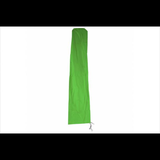 Overtræk til parasol 5 meter - vandtæt grøn cover til haveparasol