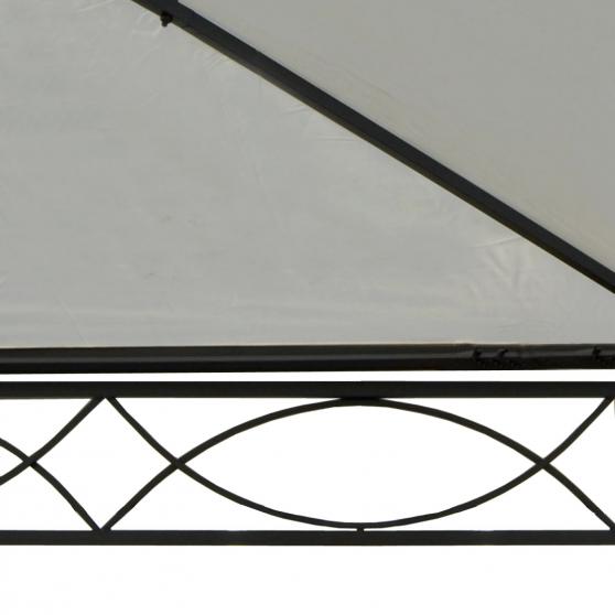 pavillon 5x3m creme beige havepavillon havepavilloner og partytelte havehobby dk. Black Bedroom Furniture Sets. Home Design Ideas