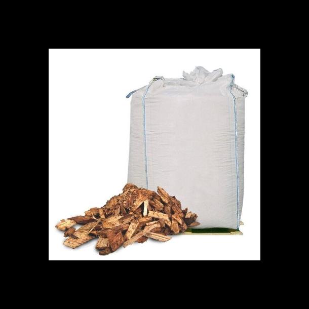Træflis i 1m3 bigbag - bunddække