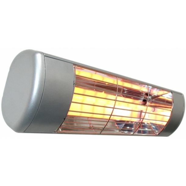 Varmelampe/terrassevarmer hlw10 på 1000w i sort, hvid og grå ...