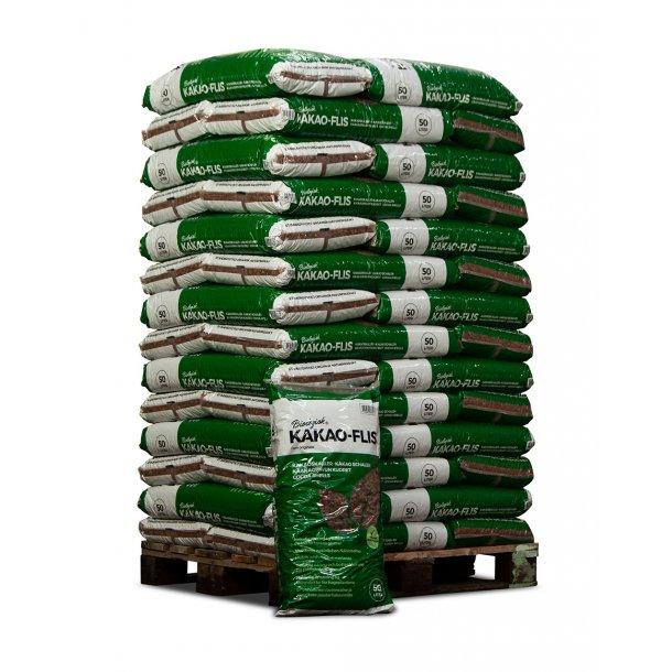 Kakao-flis 42x50 liters poser - bunddække - biologisk
