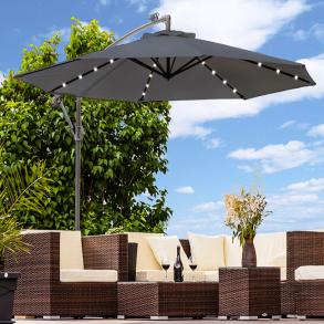 Haveparasoller - parasoller af aluminium