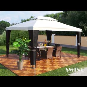 Polyrattan havepavilloner - pavilloner til haven