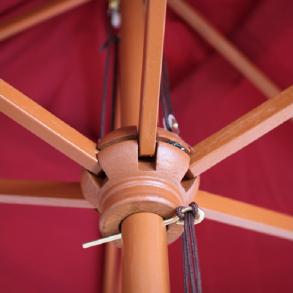 Træparasoller - parasoller med træstok