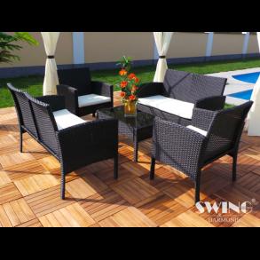 Polyrattan loungemøbler og loungesæt