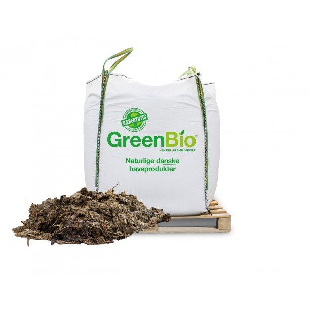 Husdyrgødning - til økologisk dyrkning - 1000 liter i bigbag