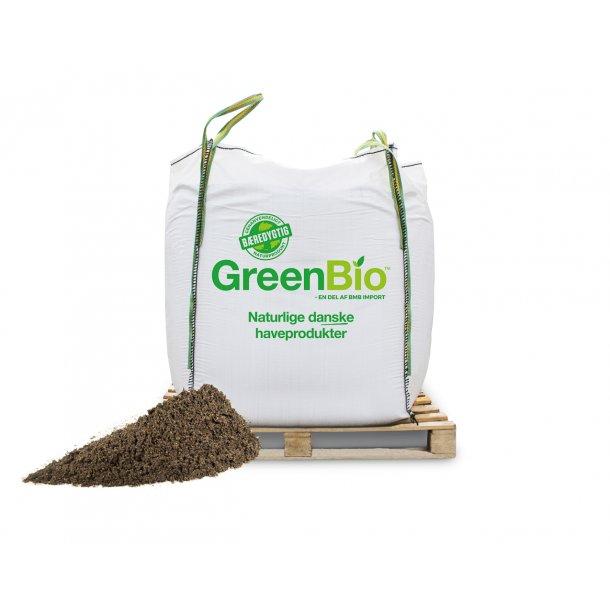 Jordforbedring til leret jord - til økologisk dyrkning - 1000 liter i bigbag