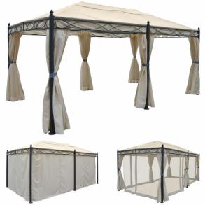 Havepavilloner Online salg af havepavilloner og partytelte