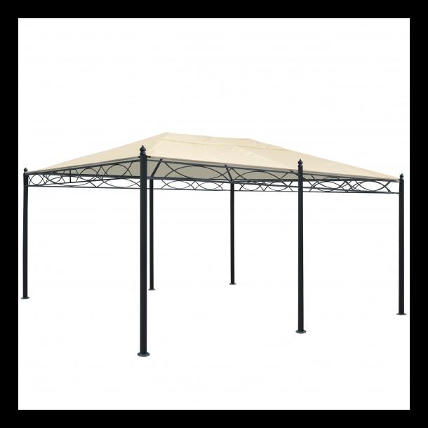 Pavillon 5x3m - creme/beige havepavillon