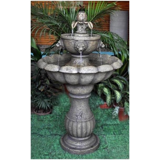 Udendørs Terrassevarmer : Springvand Amalfi antik vandkunst og vandfont u00e6ne