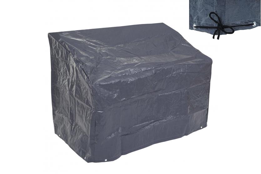 Pæn Cover til havemøbler - antrazit vandtæt overtræk til havebænk JO48